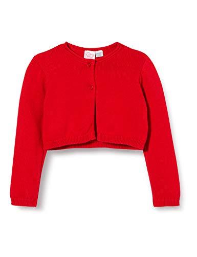 Chicco Cardigan Bimba Chaqueta Punto, Rojo (Rossol 075), 74 (Talla del Fabricante: 074) para Bebés