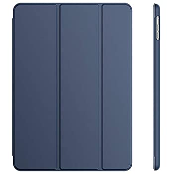 JETech Case for iPad Air 1st Edition  NOT for iPad Air 2  Smart Cover with Auto Wake/Sleep Navy