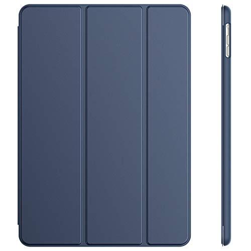 JETech Hulle Kompatibel iPad Air 2013 Modell Schutzhulle mit Stander Funktion und Auto SchlafWachen Navy Blau