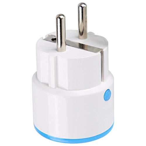 Zócalo remoto Z-Wave de la UE,Toma de control del teléfono,NEO COOLCAM NAS-WR01ZE Toma de enchufe remota con función de temporizador Enchufe de la UE para alarma Fibaro 110-230V(European version)