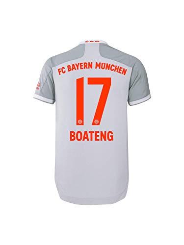 FC Bayern München Authentic Away-Trikot Auswärts Saison 2020/21, Gr. L, JérômeBoateng