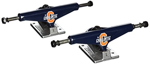Silver Truck Company L-Class Pro Chaz Ortiz 8.00 Low Skateboard Trucks