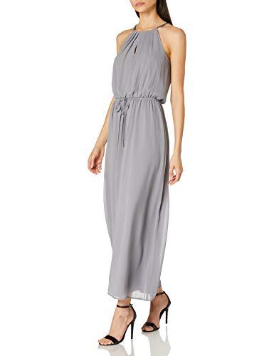 ESPRIT Collection Damen Esprit Kleid, Blau (400), 34