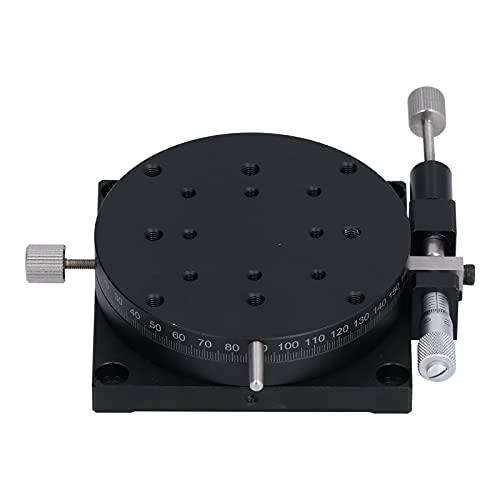 Mesa deslizante lineal, aleación de aluminio de etapa lineal giratoria manual para equipos ópticos, equipos de medición
