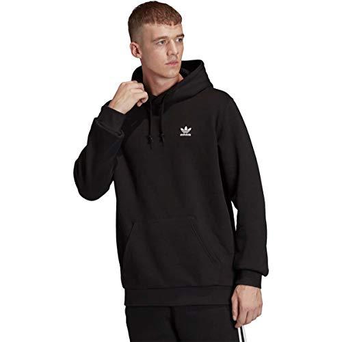 adidas Originals Men's Essential Hoodie Sweatshirt, Black, M