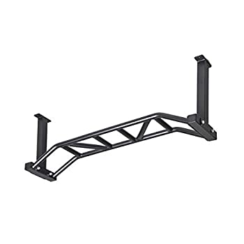 Gronk Fitness - Ceiling Mounted Multi-Grip Chin Up Bar - Pull-Up Bar for Home - Mounted Pull Up Bar - Perfect for Bodybuilding & Powerlifting Workouts - Easy to Install