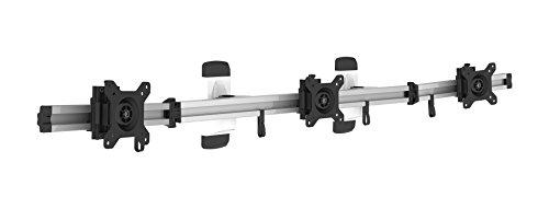 HFTEK 3-Fach-Monitorarm - Halter - Bildschirm - Wandhalterung für 3 Monitore von 15-27 Zoll mit VESA 75/100 (MP230W)