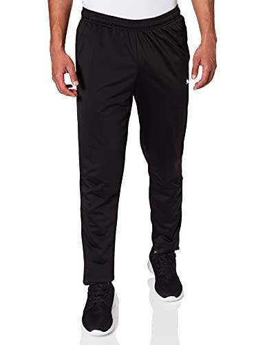 Puma Herren Liga Training Pant Core Hose, Black White, XXL