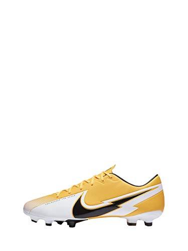 Nike Vapor 13 Academy FG/MG, Football Shoe Unisex-Adult, Laser Orange/Black-White-Laser Orange, 46 EU