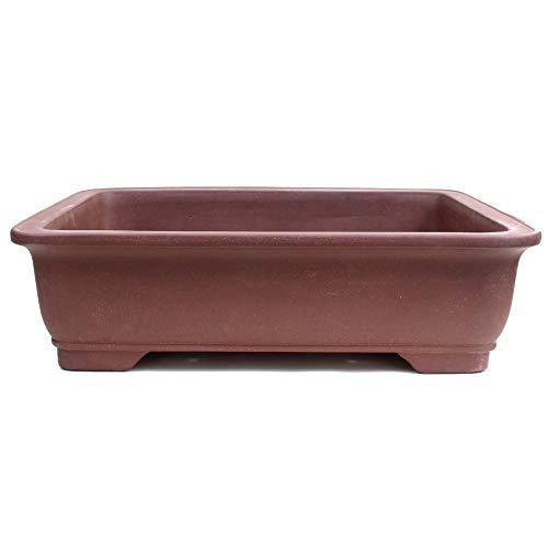 Bonsai - schaal hoekig 62 x 47 x 17,5 cm van Yixing 40310