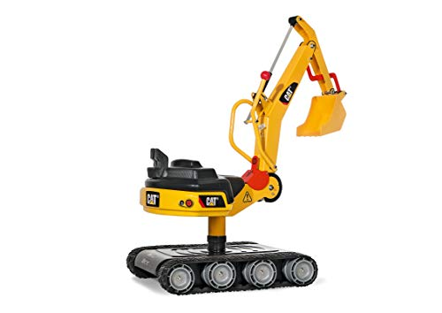 Product Image of the rolly toys CAT Construction Ride-On: Metal 360-Degree Excavator Digger with...