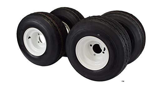 18x8.50-8 with 8x7 White Assembly for Golf Cart and Lawn Mower (Set of 4) (warning, when you go to buy if it does not say as sold by Antego then you are not getting what is pictured) pick Antego,