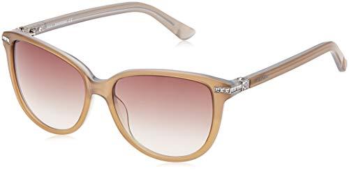 Swarovski Damen SK0077-5657F Sonnenbrille, Beige (Shiny Beige), 56