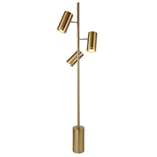 Lámpara de pie de hierro moderna Lámpara de pie para dormitorio Altura de la sala de estar: 168 cm