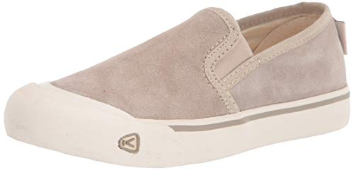 KEEN womens Coronado 3 Low Slip on Sneaker Hiking Shoe, Dove Grey, 8 US