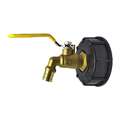Articulación Del Cañón IBC Tonelada, Interruptor De Latón Ton Barril Brass Faucet Featings, Para 600/1000 L Tanque IBC Con Toque De Salida De 3/4 Pulgadas