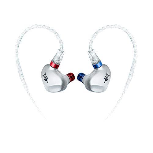 Meze Rai Solo Wired In-Ear Monitor Headphones | Noise Isolating Wired Earbuds | Ergonomic Premium Metal Earphones