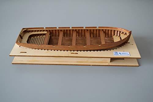 Kit de ensamblaje de Modelo de Salvavidas de Costilla Completa Lanzamiento de Kits de construcción de Modelos de Bote Salvavidas La Seguridad