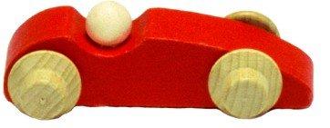 Laufteil für DREWA Kugelbahnen Rennauato rot