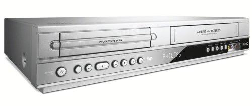 Philips DVP 3350 V / 02 DVD-Player / Video-Rekorder Kombination (DivX-zertifiziert) silber