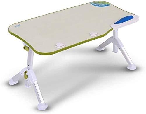 LIjiMY Cama Plegable Tray Lap Desk Portable Pequeña Mesa De Dormitorio Plegable PERFECTADA Forwatching Película En Cama como Mesa De Comedor Personal (Color: Verde) (Color : Green)