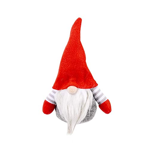 Christmas Ornaments Gift Santa Faceless Claus Toy Doll Decorations Pendant Home & Garden Home DIY