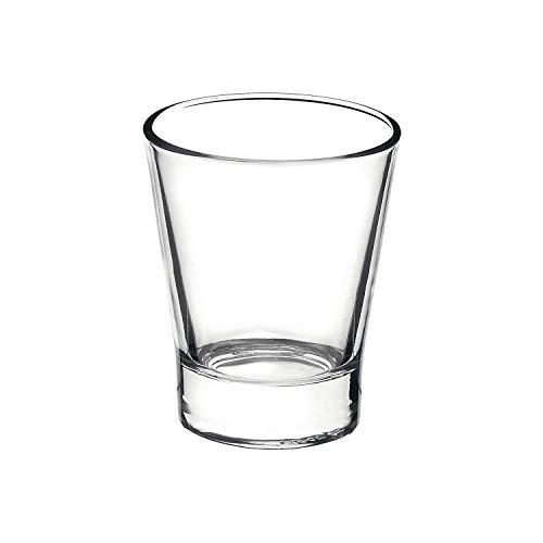 Rocco Bormioli Bormioli Rocco 1329309 Borm Confezioni 6 Bicchieri per Caffeino, 9 cl, Bamboo, 6 unità
