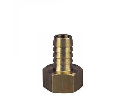 BFG Diamond Racor de Rosca de para Tubos de latón y Cobre, para conectar Tubos |de una Pieza, con Rosca Interior |MAX.Temperatura de Funcionamiento 90 ° C, presión máxima de Funcionamiento 10 Bar