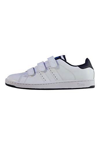 Lonsdale , Herren Sneaker mehrfarbig weiß/marineblau
