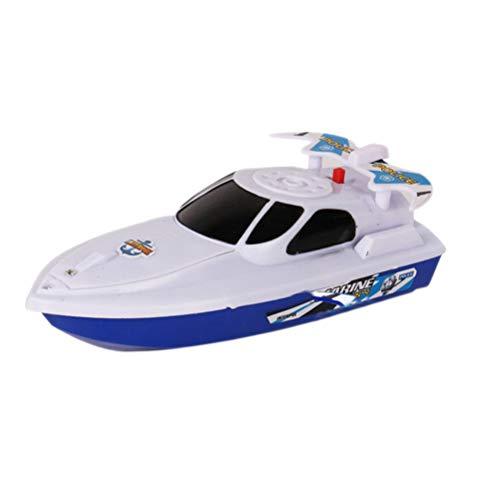 Holmeey Flotante Juguetes De Baño Barco Speedboat Juguetes De Baño Motor Eléctrico Bañera Ducha Juguetes De Los Niños Divertido Juguete De Agua Para Niños Bebés
