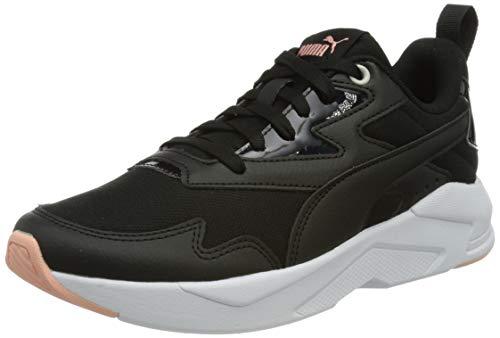 Puma X-Ray Lite Metallic WMN S, Zapatillas Mujer, Negro Black Black Apricot Blush, 37 EU