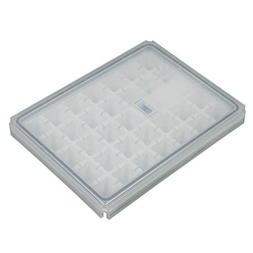 Liebherr 7420322 ORIGINAL Eiswürfelschale Eisschale Eiszubereiter Schale Eisbereiter mit Deckel Kühlschrank