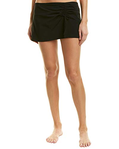 Profile by Gottex Women's Classic Side Tie Skirted Swimsuit Bottom, Tutti Frutti Black II, 8