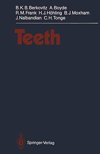 Teeth (Handbuch der Mikroskopischen Anatomie des Menschen Handbook of Mikroscopic Anatomy / Verdauungsapparat, Atmungsapparat) (Handbuch der ... Handbook of Mikroscopic Anatomy (5 / 6))