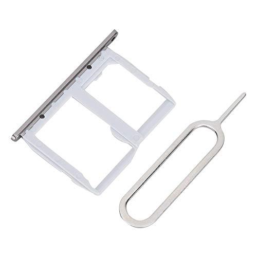 Dual Slots Sim Card Tray + Pin Opener voor LG G5 en LG LS992/LS987/H820, hoge kwaliteit gegarandeerd en draagbaar en gemakkelijk te gebruiken, perfecte combinatie van economie en hoge kwaliteit