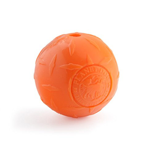 Planet Dog Orbee-Tuff Snoop Interactive Treat Dispensing Dog Toy, Large, Orange
