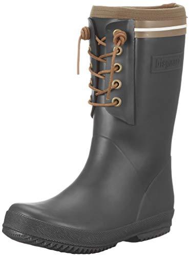 Bisgaard Unisex-Kinder Rubber Boot-LACE Thermo Gummistiefel, Schwarz (Black 50), 33 EU