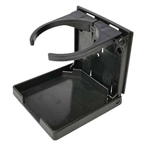 WEFH Portavasos de Agua Plegable para Coche Portavasos de Agua retráctil montado en la Pared, Negro