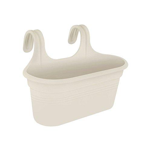 Elho Green Basics Easy Hanger Large-Cotton White Portavaso, 36.2X26.2X25.7 Cm