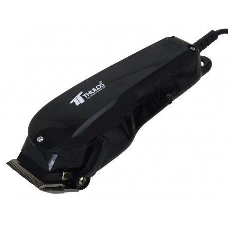 Thulos Cortapelos TH-HC102-N Cuchillas de Acero Inoxidable | Tacto Suave para un Mejor Control | Hoja Ajustable con Protector | Incluye peines de Corte: 3, 6, 10 y 13 mm