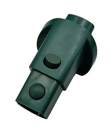 Elektro-Adapter AD12 geeignet zum Verbinden von Vorwerk Kobold 118,119,120,121,122,Tiger 250,251 mit Teppichbürste EB 350, 351,360