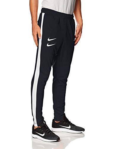 Nike M NSW Swoosh Pant PK Pantaloni, Black/White/Black/White, L Uomo