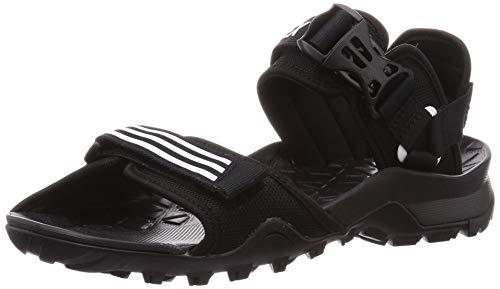 adidas Ef0016_46, Sandalias al Aire Libre Hombre, Black, EU