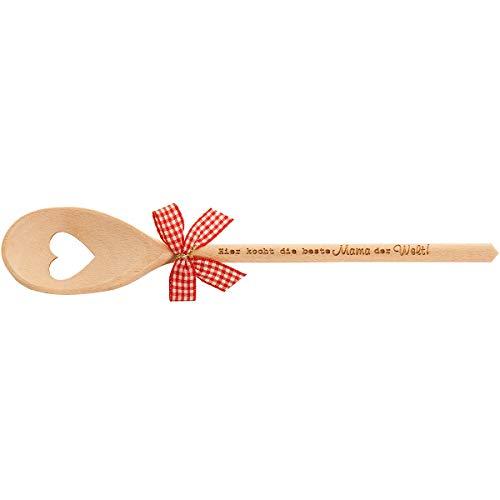 Spruchreif PREMIUM QUALITÄT 100% EMOTIONAL Kochlöffel Holz mit Herz · Kochlöffel mit Gravur · Holzkochlöffel · Holzlöffel · Küchenhelfer · Küchendeko · Geschenke für Oma · Geschenke für Mama