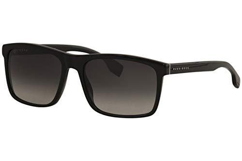 Hugo Boss Herren BOSS 1036/S Sonnenbrille, Schwarz, 58