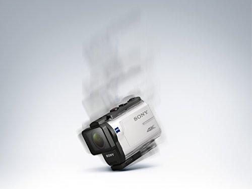 Sony FDR-X3000R 4K Action Cam mit BOSS Live View Remote Fernbedienung – weiß - 21