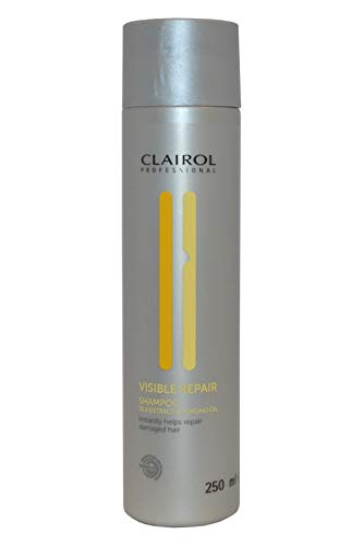 Clairol Visible Repair Shampoo mit Seidenextrakt und Mandelöl, 250 ml