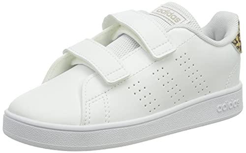adidas Advantage I, Zapatillas de Tenis, FTWBLA/FTWBLA/BEIBRU, 22 EU
