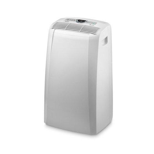 De'Longhi PAC cn91Climatiseur mobile (Max. Puissance de refroidissement 2,6kW/10,500BTU/h, fonction de déshumidification séparée Convient pour pièces jusque 90m³) [Classe énergétique Classe d'efficacité énergétique A]