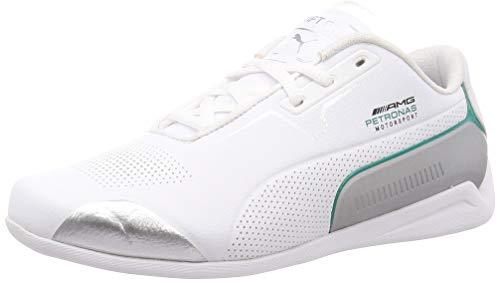 PUMA MAPM Drift Cat 8 Leichtathletik-Schuh, Weiß, Silber, 27 EU
